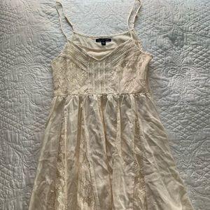 American Eagle beige tank dress